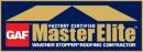 GAF Master Elite Award